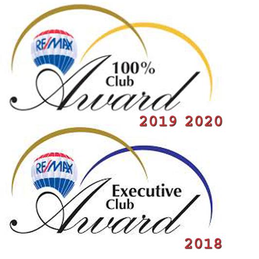 ReMax Executive Club & 100% Club Member