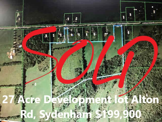MLS listing - Alton Rd development lot, Sydenham