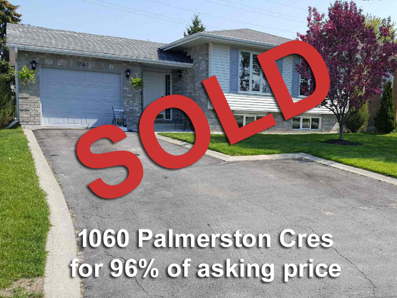 MLS listing - 1060 Palmerston Cres, Kingston ON