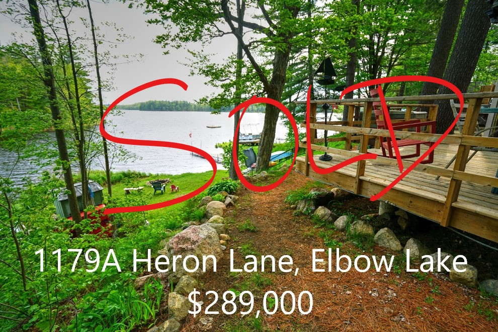 MLS listing - 1179A Heron Lane, Elbow Lake
