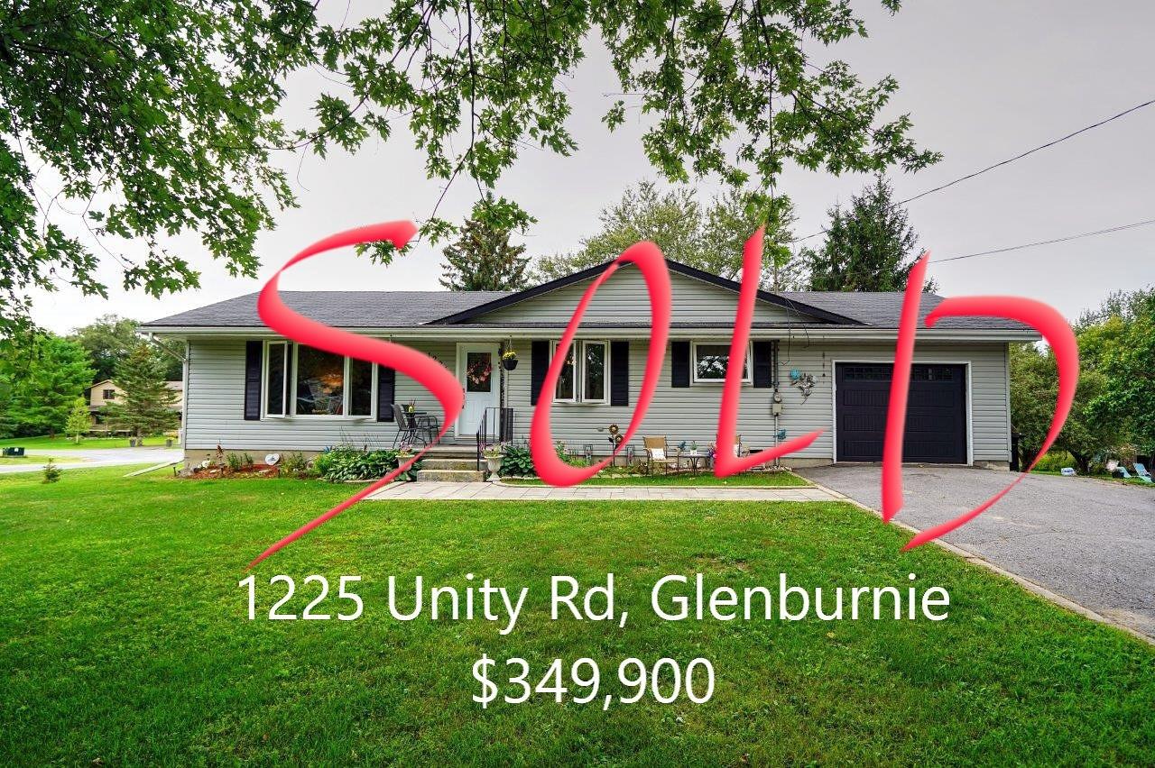 MLS listing - 1225 Unity Rd, Glenburnie