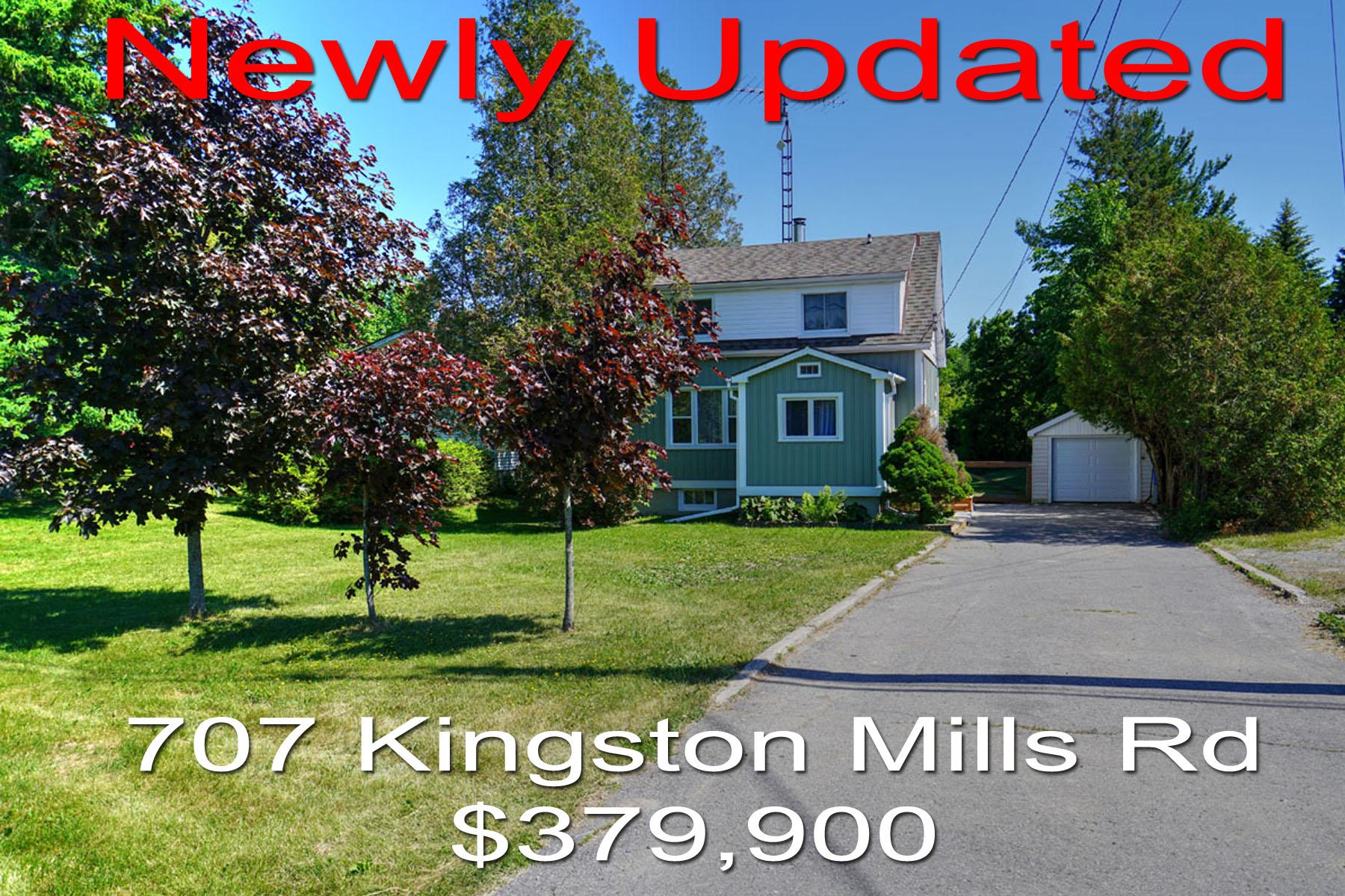 MLS listing 707 Kingston Mills Rd, Kingston ON