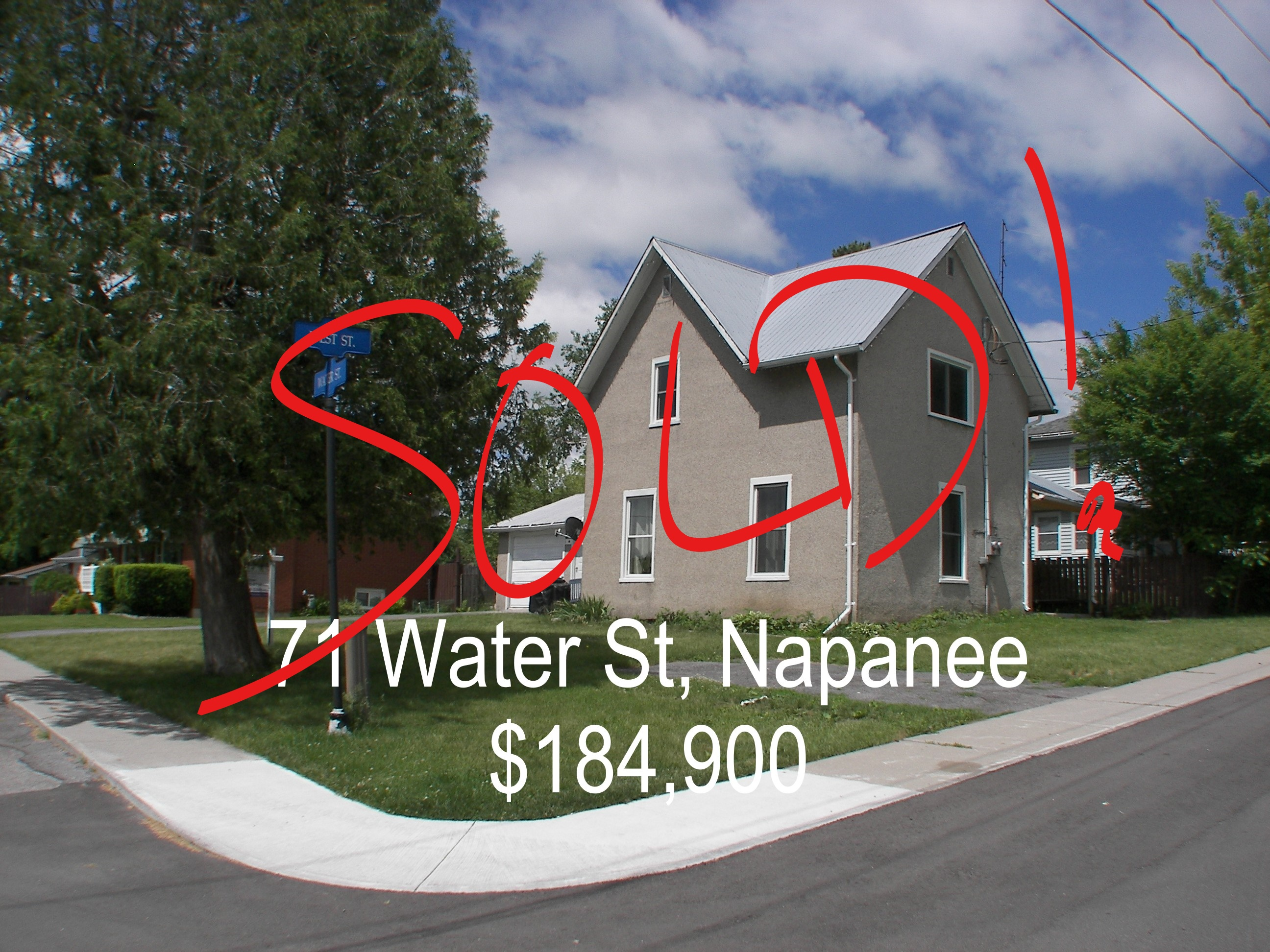 MLS listing details - 71 Water St, Napanee ON